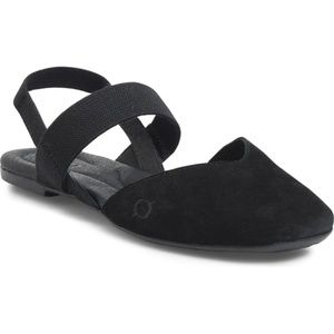 NEW Born Chulu in Black Suede Sandal